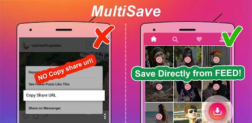 MultiSave - Photo, Video Downloader for Instagram app (apk