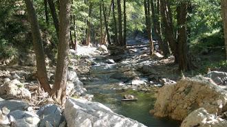 Nacimiento del río Andarax.