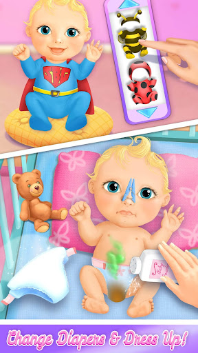 Sweet Baby Girl Doll House - Play, Care & Bed Time 2.0.9 Screenshots 6