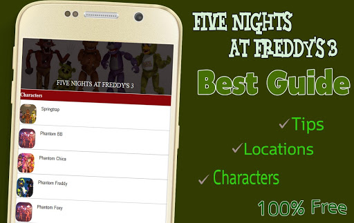 Guide for F Night at Freddy 3