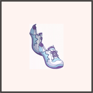 スニーカー(紫)