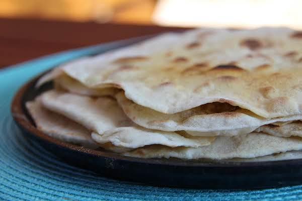 Flour Tortillas-an Experiment Recipe