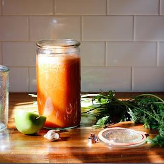 Carrot Apple Blended Juice