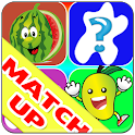 MatchUp Funny Fruits Game icon