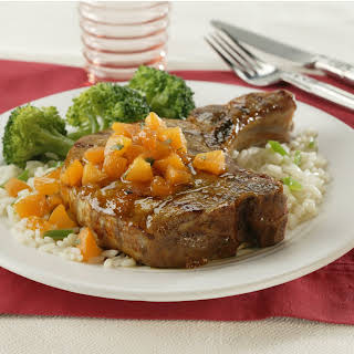 Apricot-Glazed Pork Loin Chops.