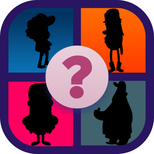 Guess the character of Gravity Falls (game)