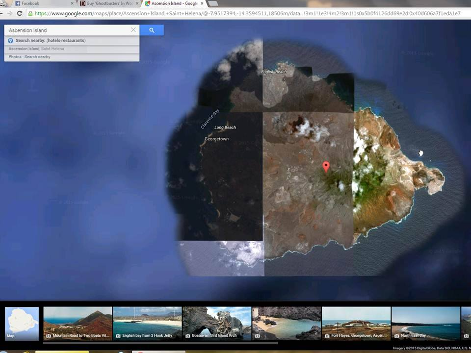 The Significance Of Metatrons Cube Center Points Ascension - Ascension island google map
