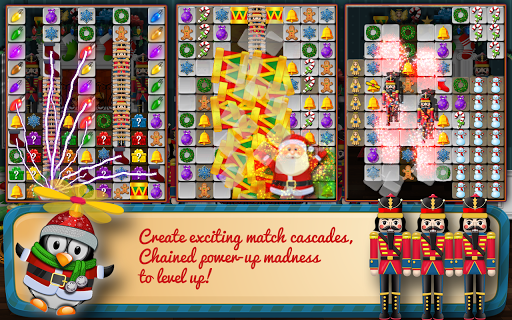 Christmas Drops 4 - Match three puzzle - screenshot