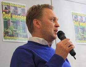 Photo: André Bakker van Ymere: 'Ouderen moeten zich eerder voorbereiden op verhuizen, Als het traplopen niet meer gaat, moet u niet verwachten dat er op stel en sprong een andere woning is'.