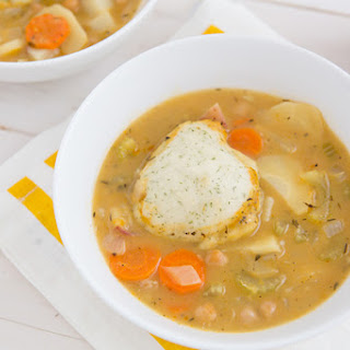 Chickpeas and Dumplings