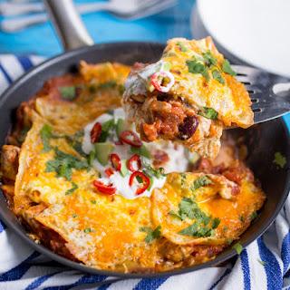 Enchilada Skillet Lasagna