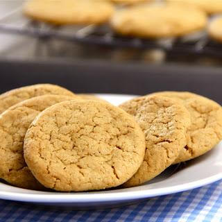 Gluten-Free + Dairy-Free Peanut Butter Cookies.