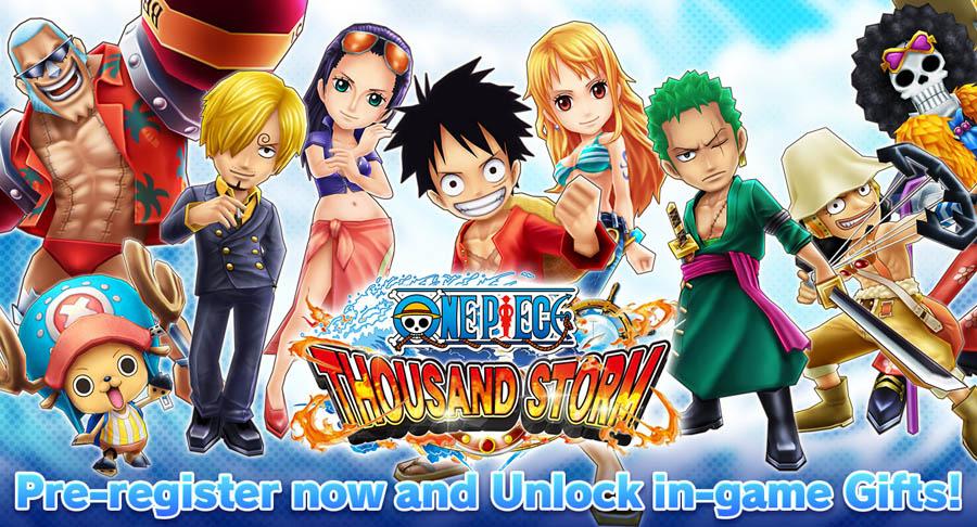 One Piece Thousand Storm: nuovo gioco pirata 3D per Android e iOS