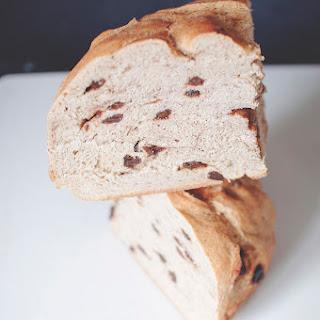 Cinnamon + Raisin Applesauce Bread