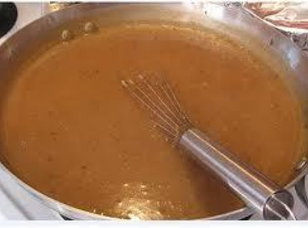 In the same saucepan, heat the turkey drippings and butter until melted. Stir in...