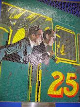 """Photo: Mosaico de """"O mistério do número 17"""""""