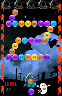 Bubble Shooter Halloween Free - náhled
