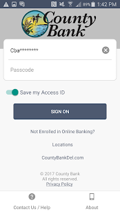 County Bank Mobile- screenshot thumbnail