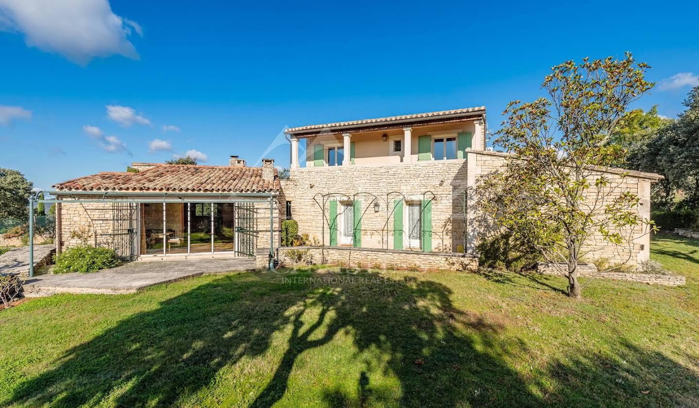 Villa avec piscine et terrasse Gordes