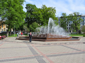 Photo: Lots of fountains and statues