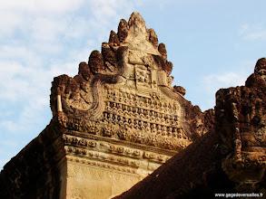 Photo: #022-Angkor Vat. Site classé au Patrimoine mondial de l'Unesco.