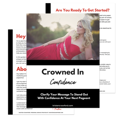 Crowned In Confidence Workbook