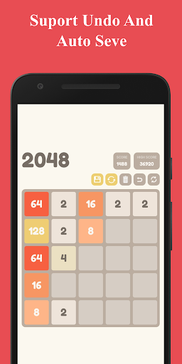 Number Puzzle:  2048 Puzzle Game 2.5 screenshots 4