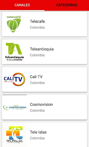 TV Movil screenshot 1