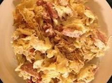 Grandma's Creamy Sauerkraut And Pasta Casserole Recipe