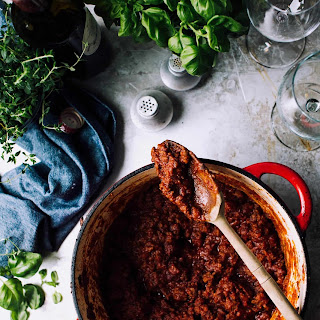 The Best Meat Sauce.