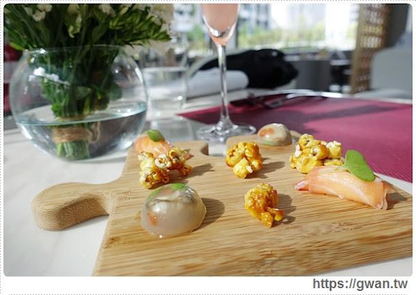 Beluga Restaurant&Bar — 全台最大景觀池畔餐廳♪適合情人節的浪漫法式料理♥