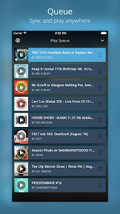 Mixcloud - Radio & DJ mixes- screenshot thumbnail