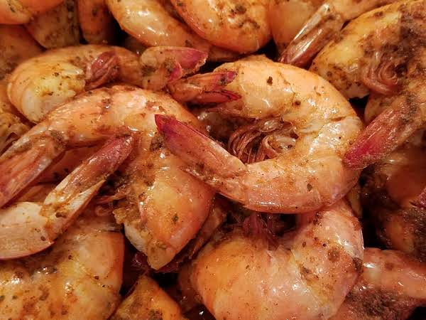 Steamed Shrimp W/old Bay & Onions