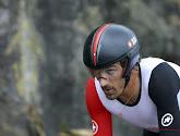 Fabian Cancellara kon de proloog in Rotterdam op zijn naam zetten