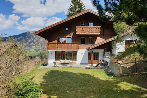 A Private Chalet With Views Over the Eggli and the Oldenhorn in gstaad