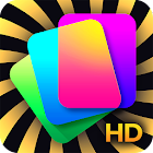 Kappboom - Cool Wallpapers and Google Photos HD icon