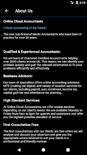 Online Cloud Accountants - náhled