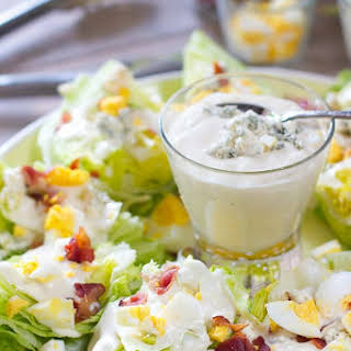 Wedge Salad Platter for a Crowd.