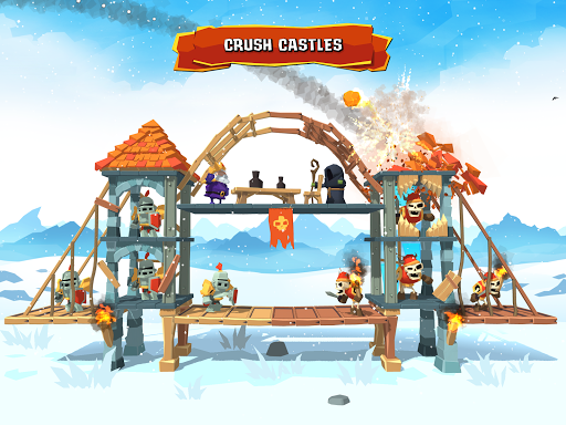 Crush the Castle Siege Master Mod Full Coins