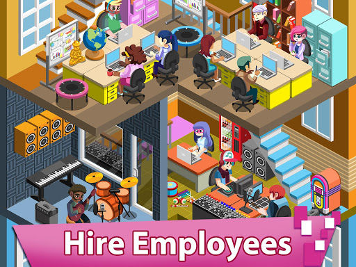Video Game Tycoon - Idle Clicker & Tap Inc Game android2mod screenshots 2