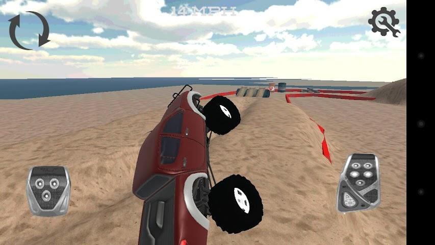 android Monster Truck Drifter Screenshot 3