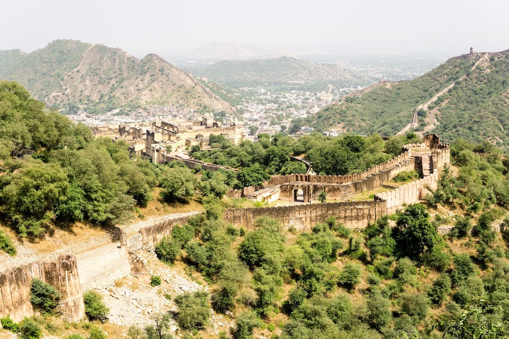 View from the Jaigarh Fort in Jaipur