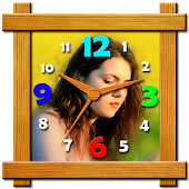 Clock Photo Editor - Analog Clock, Digital Clock