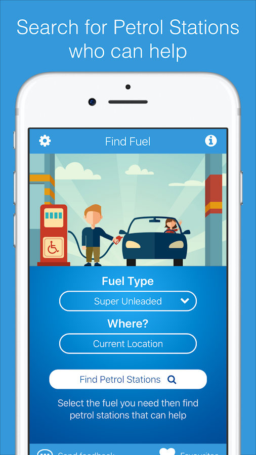 fuelService- screenshot