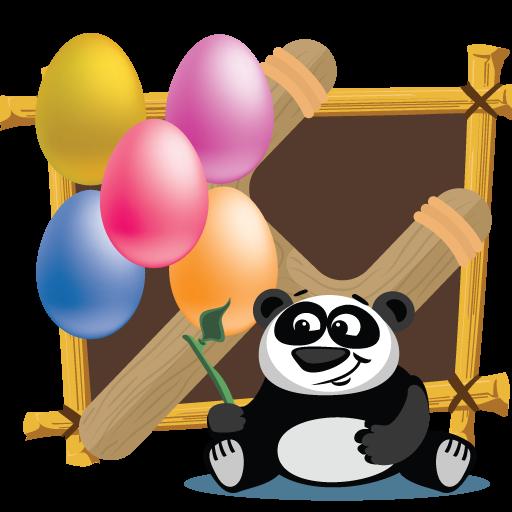 Panda Pop Slingshot Shooter