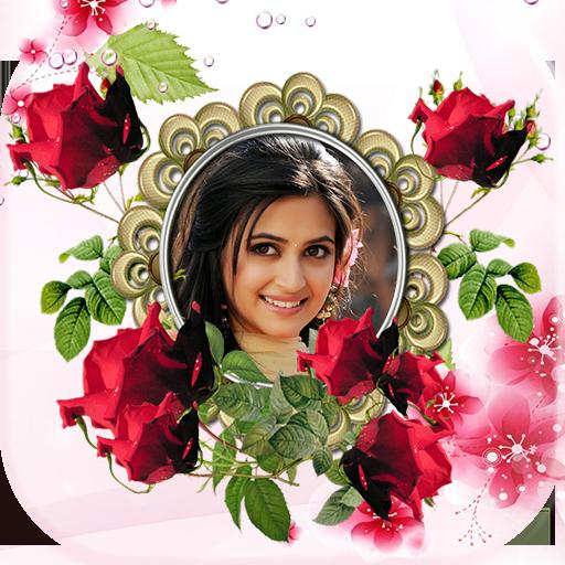 Flower Photo Frame