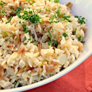 Pineapple Rice Pilaf.