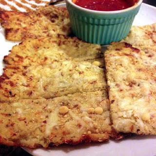 Garlic Cauliflower Breadsticks