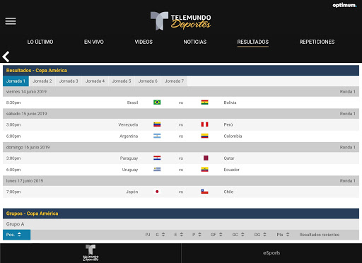 Telemundo Deportes - En Vivo screenshot 15