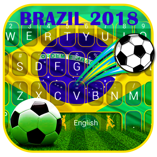 Brazil 2018 Football  Keyboard